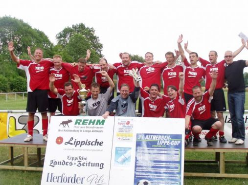 Altherren Lippe – Cup in Lemgo, Sonntag 06.02.11