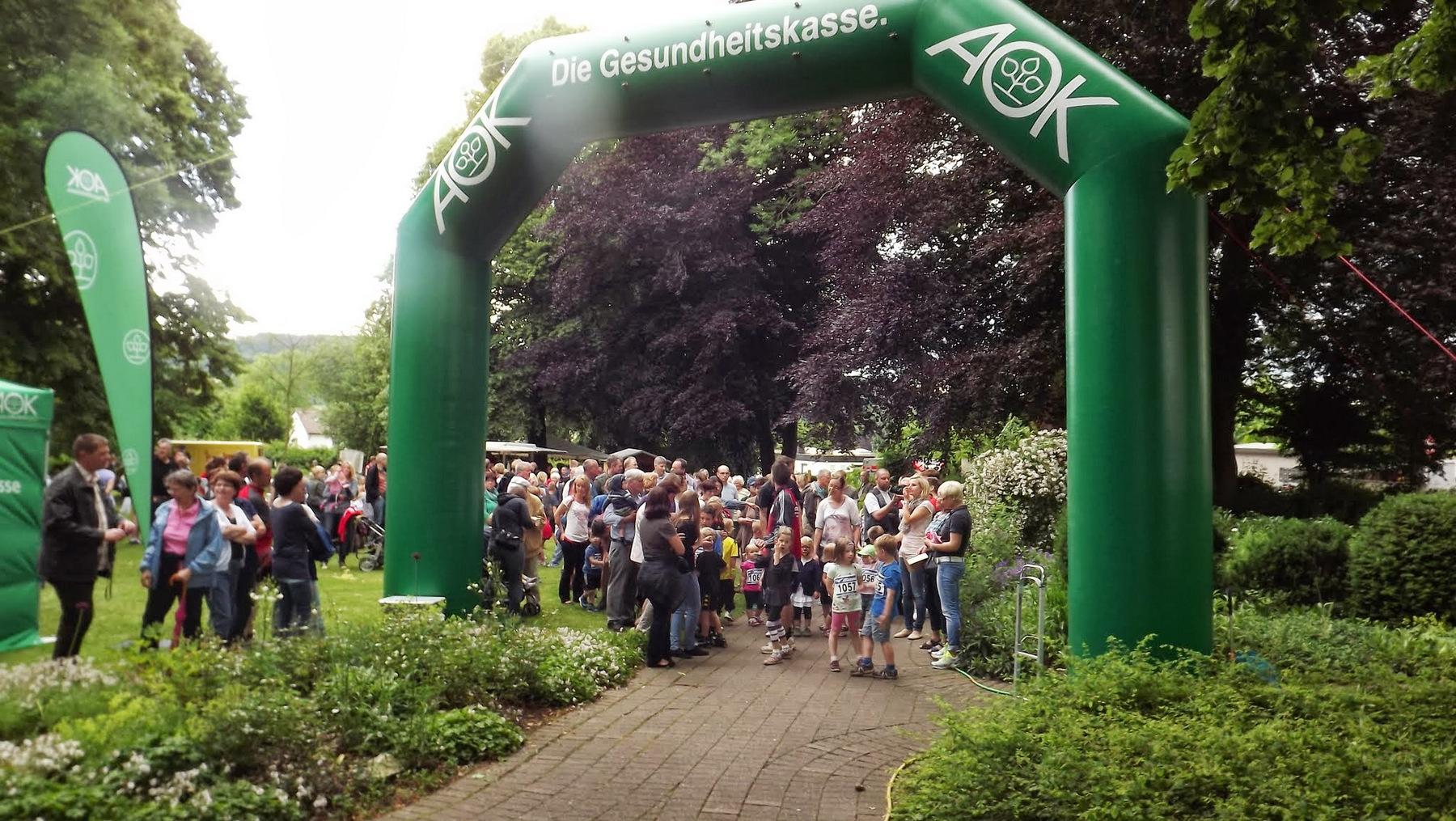 Sponsorenlauf des RSV Barntrup im Barntruper Stadtpark