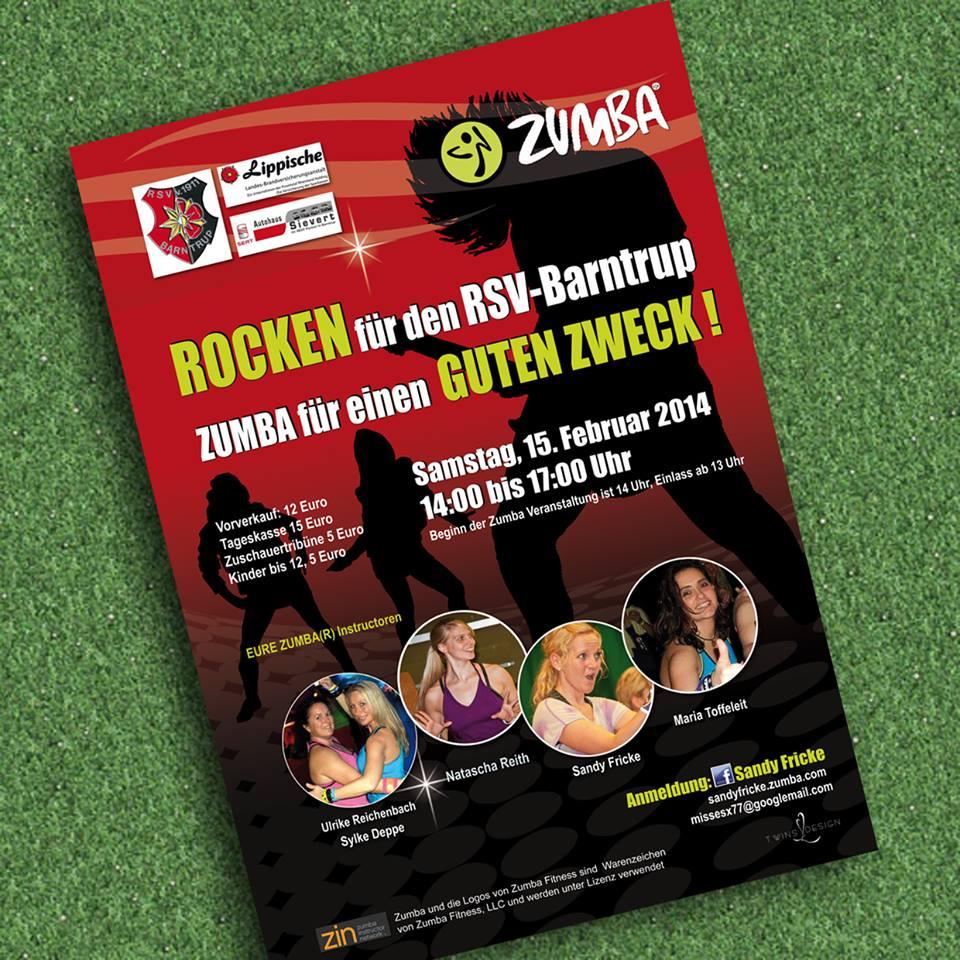 Rocken für den RSV – Ticketverkauf, Hinweis von Sandy