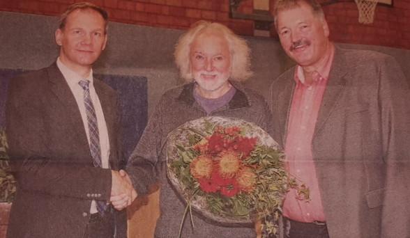 Horst Schröder ist Sportler des Jahres, unser Löwe hat es verdient !