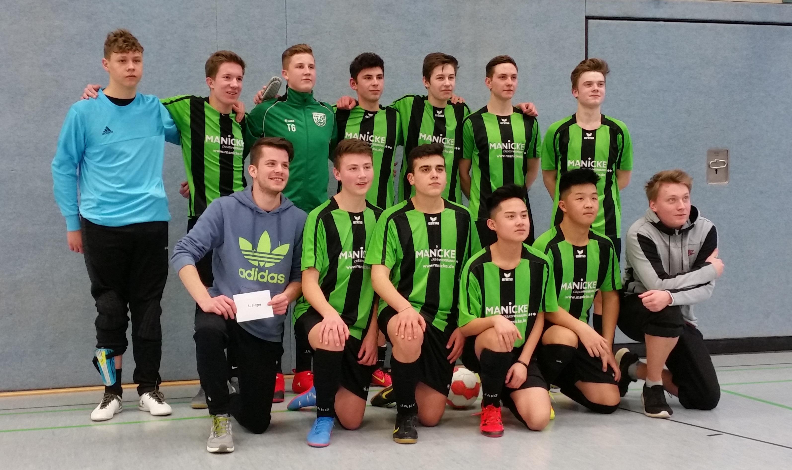 Eichholz-Remmighausen gewinnt B-Junioren-Turnier