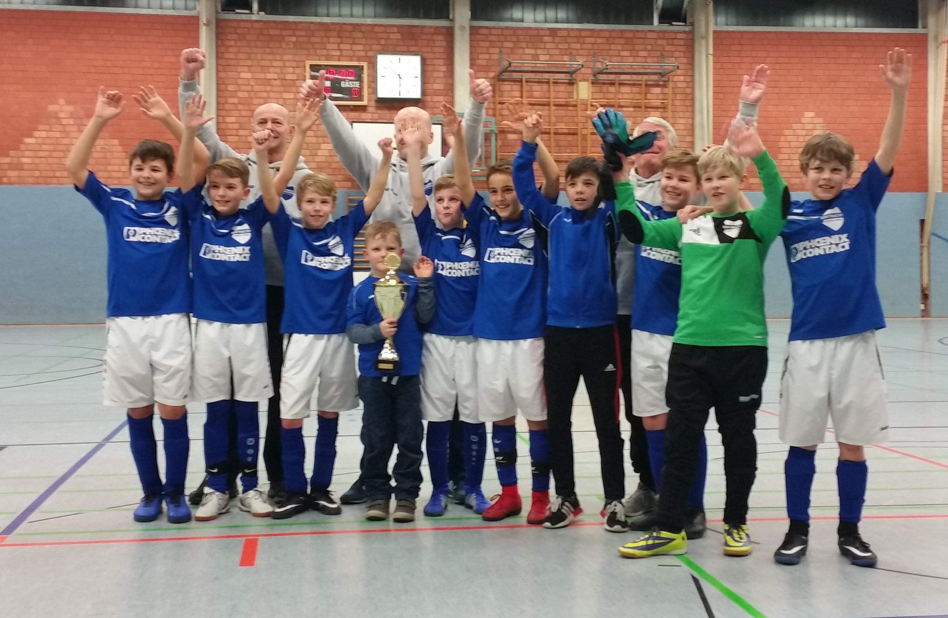 Jerxen-Orbke gewinnt D1-Turnier