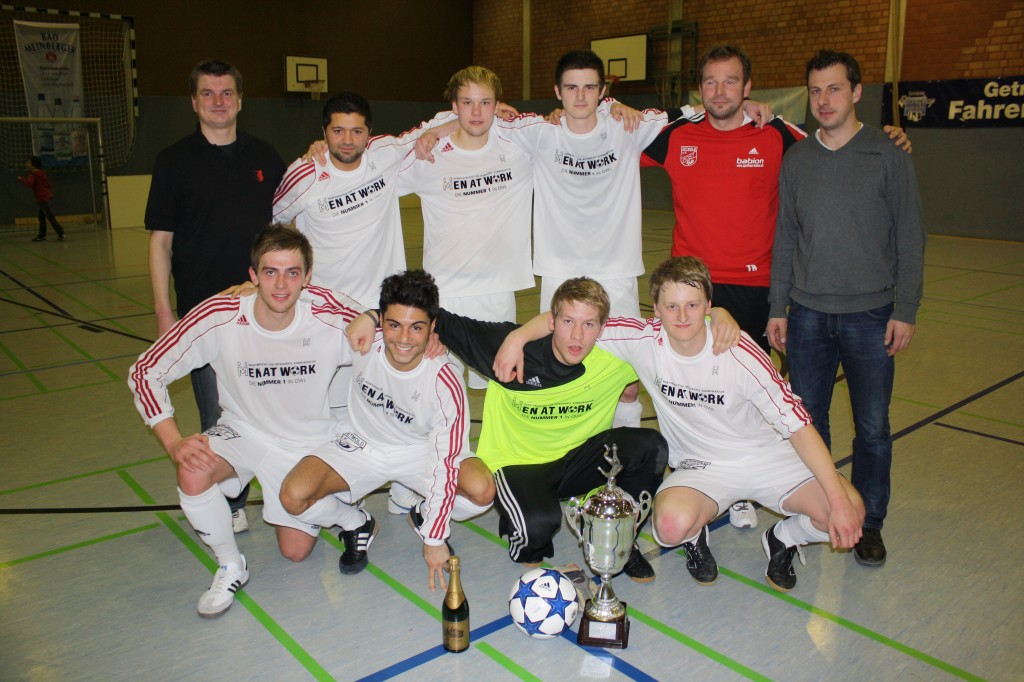 Sieger des Classic-Cups Post SV Detmold. Herzlichen Glückwunsch!
