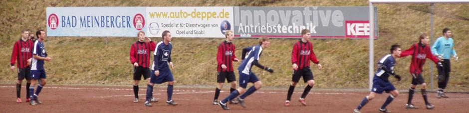 Gerechte Punkteteilung im Waldstadion. RSV spielt nur 1:1 gegen den Gast aus Bad Driburg
