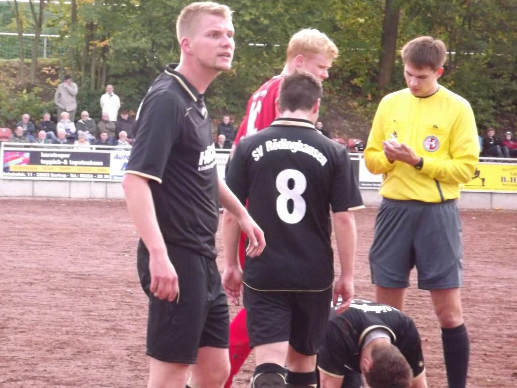 0:5 Klatsche gegen Rödinghausen