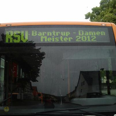 Bustranfer zum Pokalendspiel