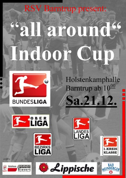 """All-Around"" Indoor Cup, Sa 21.12. ab 10:00"