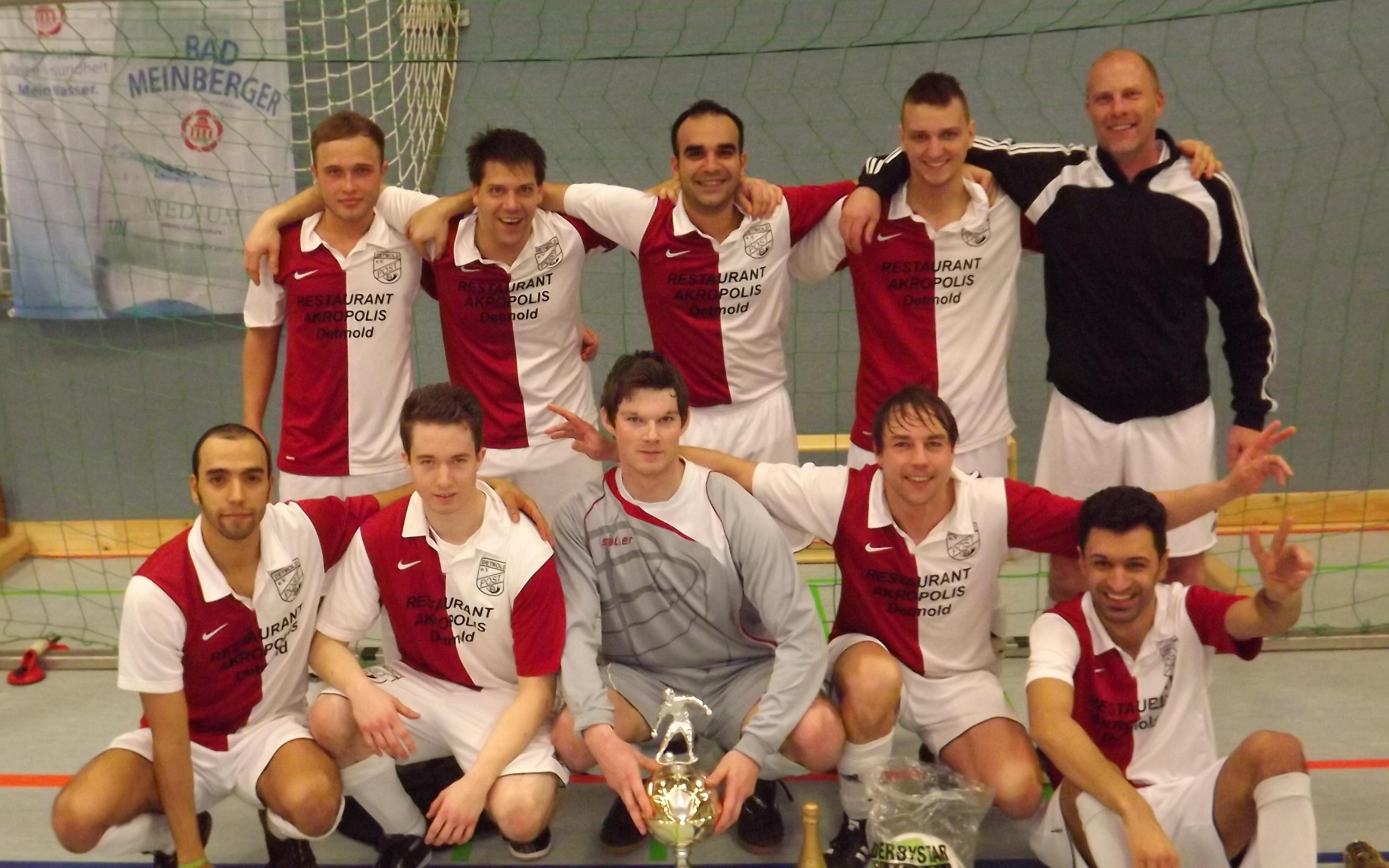 Postler holen sich den Neujahrs-Cup im Endspiel gegen die SG Humfeld/Bega I