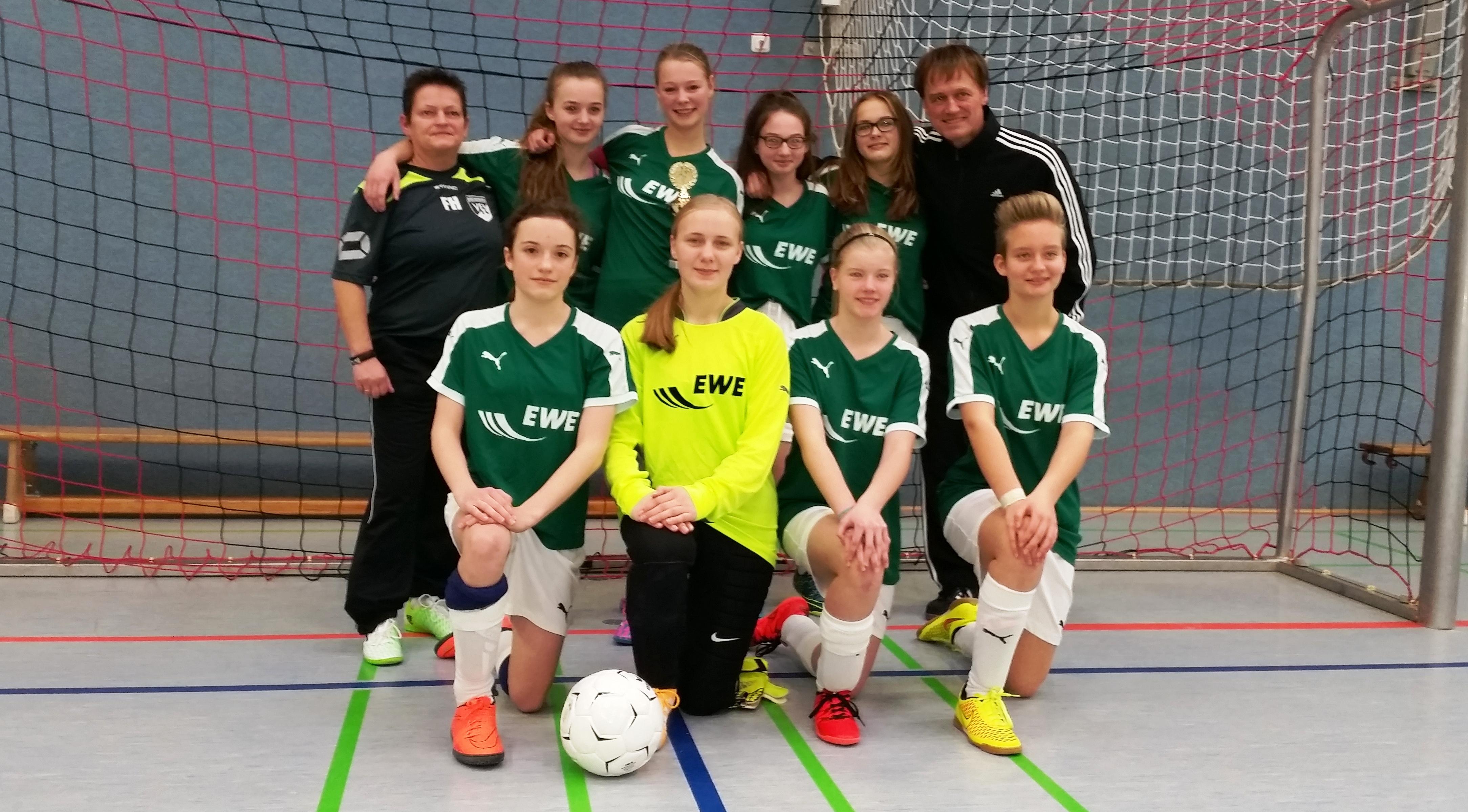VfL Bückeburg gewinnt C-Juniorinnen-Turnier