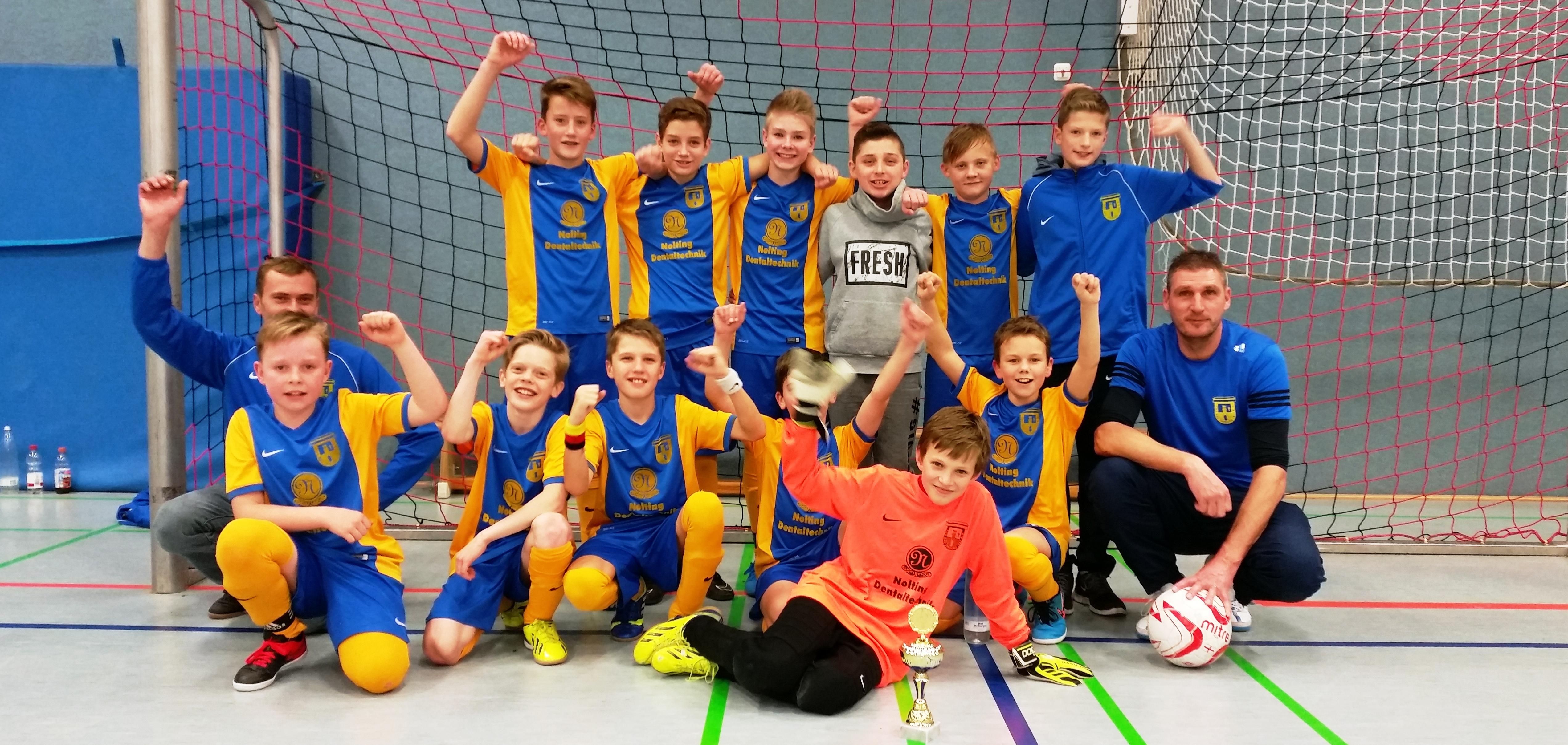 Bad Driburg gewinnt D1-Turnier