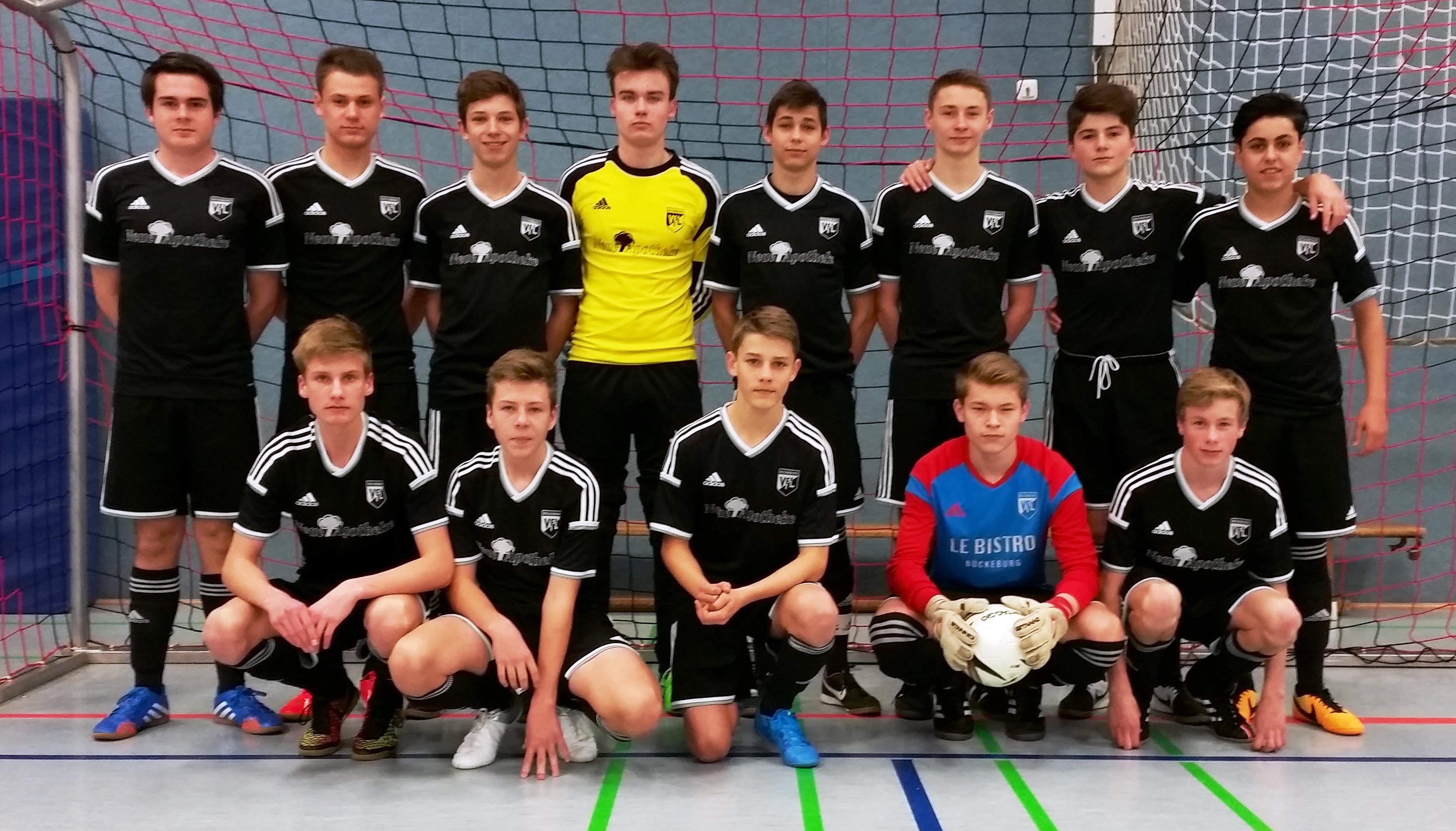 VfL Bückeburg beim B-Jgd-Turnier siegreich