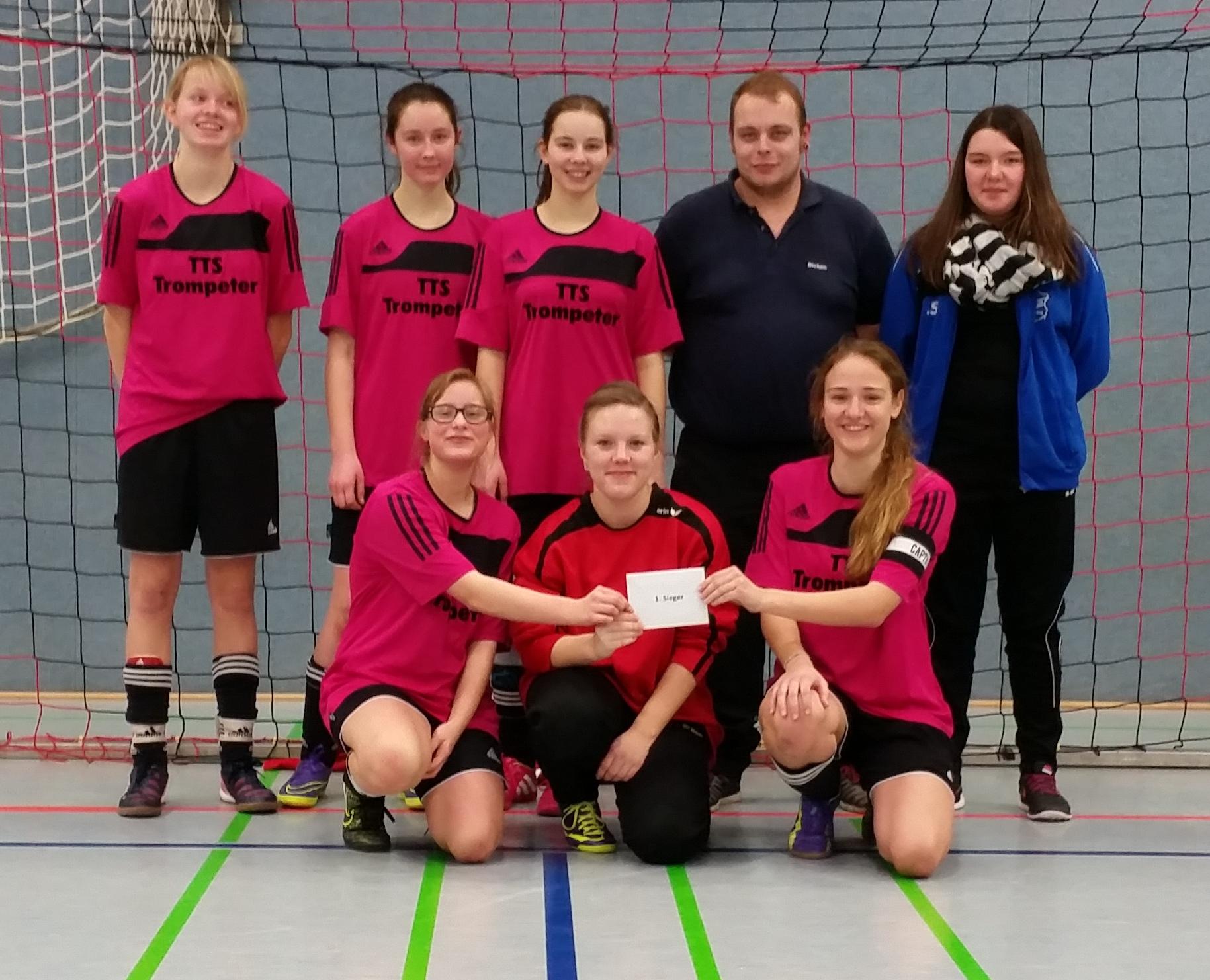 Die JSG Alverdissen/Extertal gewinnt B-Juniorinnen-Turnier