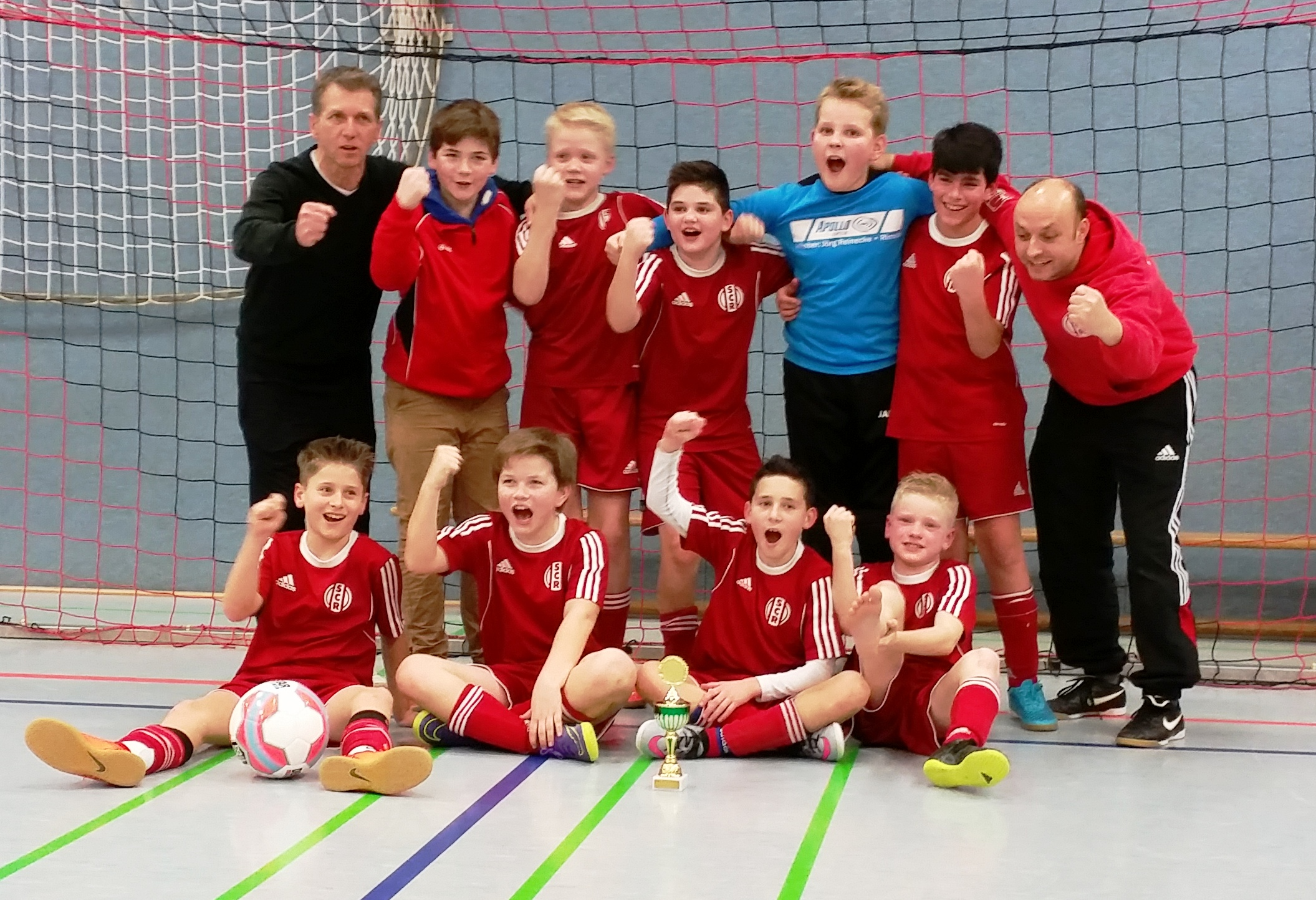 SC Rinteln gewinnt D2-Turnier