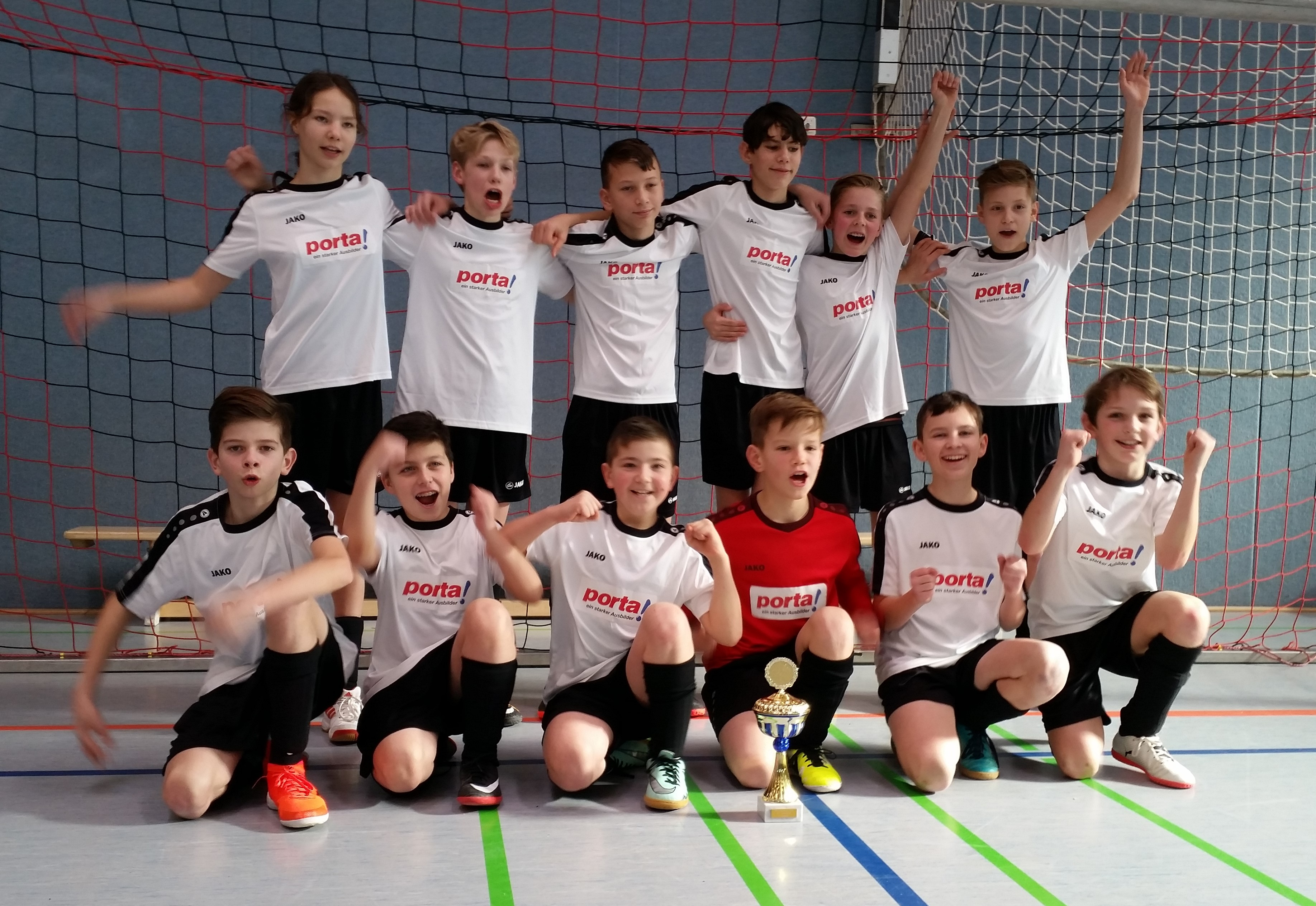 JSG Leese/Hörstmar/Lieme gewinnt D1-Turnier