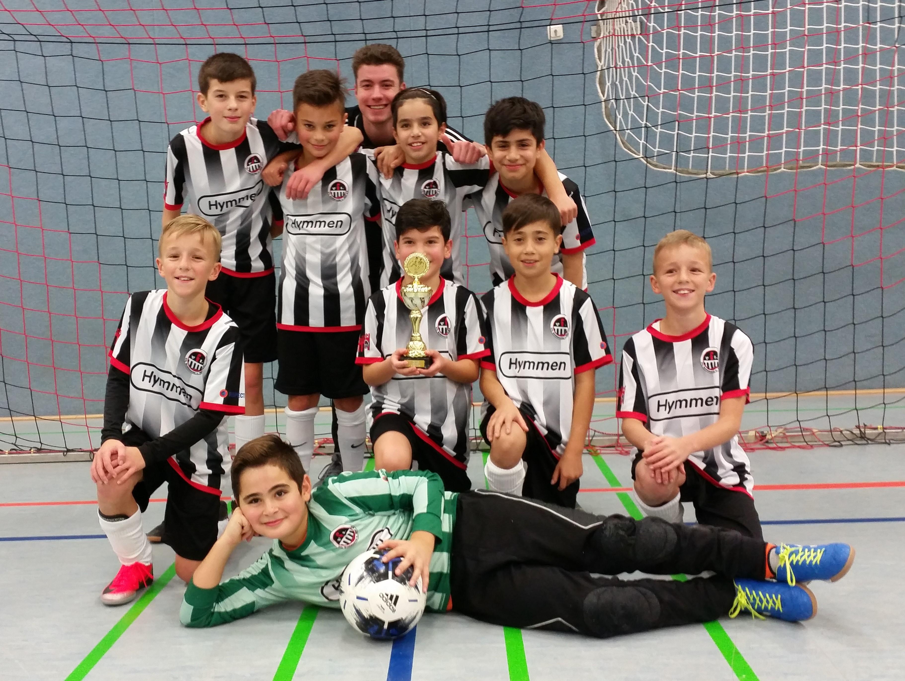 Der VfL Schildesche wird Sieger des D2-Turniers
